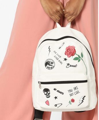 Shop This Absolutely Trendy Backpack And Go All The Way Classy! #Fashion #Style #OnlineShopping #Bags #Backpack #FOWON