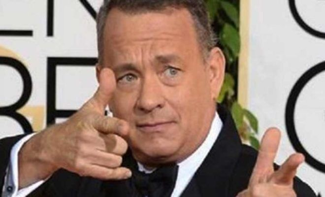 "ARROGANT, LYING, PHONY, LIBERAL, ""PROGRESSIVE,"" DEMOCRAT *CUNT, Tom Hanks, Would Skip a White House Screening of 'The Post' in Protest of Trump"