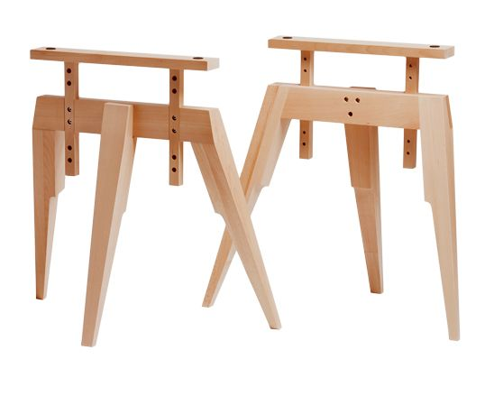 37 Best Saw Horse Table Images On Pinterest