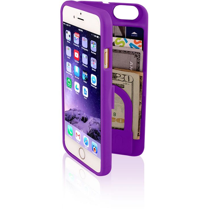 EYN iPhone 6 Wallet Case Purple