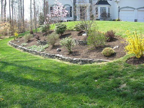 Pin By April Davis On For The Yard Landscaping A Slope