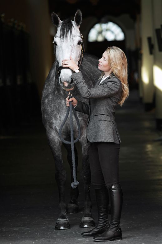 Edwina Tops-Alexander, who wears our Parlanti boots and uses our Amerigo Saddles on her horses...more information on www.tailoredequestrian.com