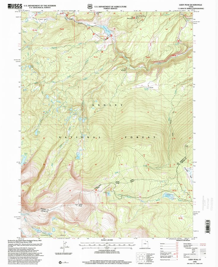 Map From The Usgs Historical Topographic Map Collection