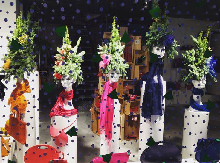 shop - window - display - etalage - kerstmis - Christmas - www.awardt.be