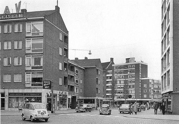 Rotterdam<br />Rotterdam: De Meent in 1958