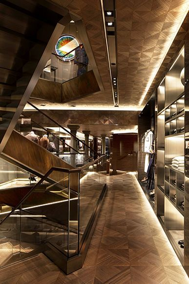 Commercial retail maison berluti flagship store mayfair for Retail interior designers in london
