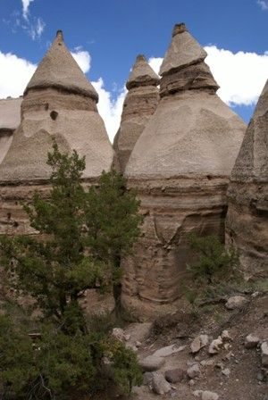 One of the best day trips out of Albuquerque takes you to one of New Mexico's better-kept secrets.  Kasha-Katuwe Tent Rocks is a National Monument, but even though it's earned a place amongst America's other National Parks and Monuments, it's easily overlooked. NM, US