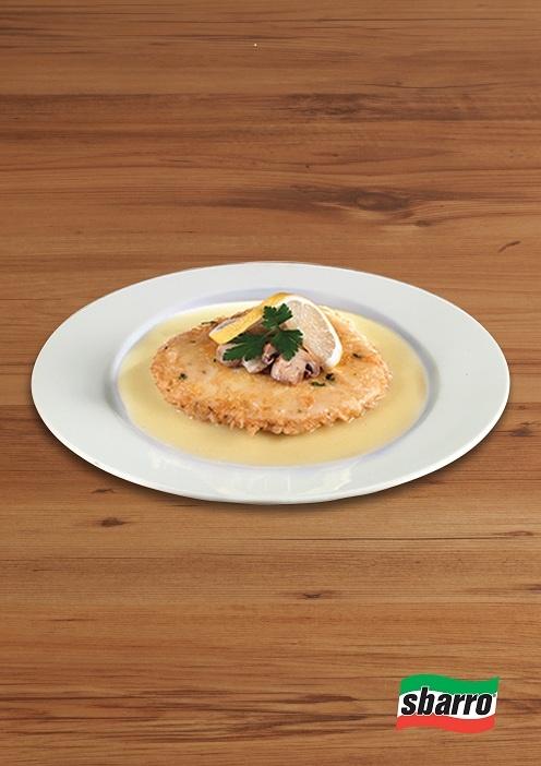 Chicken Francese  Limonlu tereyağda marine edilen nefis göğüs eti.