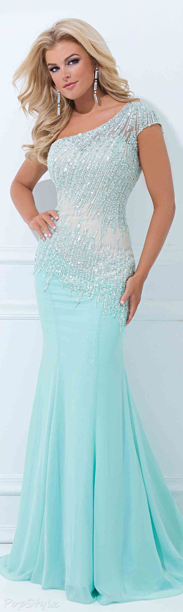 Tony Bowls TBE11439 Evening Gown. Amazingly affordable. .and lovely shade great for your special party