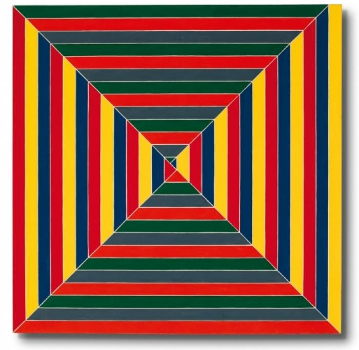 The hypnotic Les Indes galantes (1962) by Frank Stella