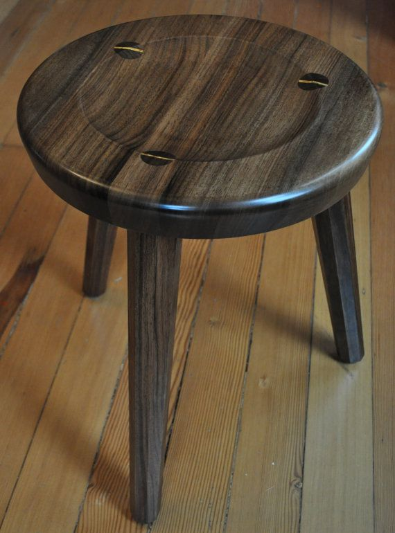 $184 Hearth Stools are a line of one-of-a-kind numbered stools. These stools explore the interaction of woods wild and wily-grained nature with the