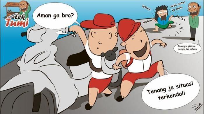 Terkeren 30 Gambar Kartun Anak Terjatuh Dari Sepeda Di 2020 Anak