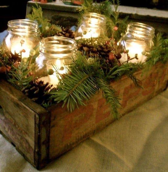 Noiva com Classe: 30 Ideias de Decoração de Natal Elegante - Inspiração de Arranjos de Mesa de Natal