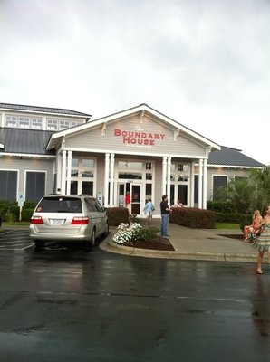Boundary House restaurant, Calabash NC