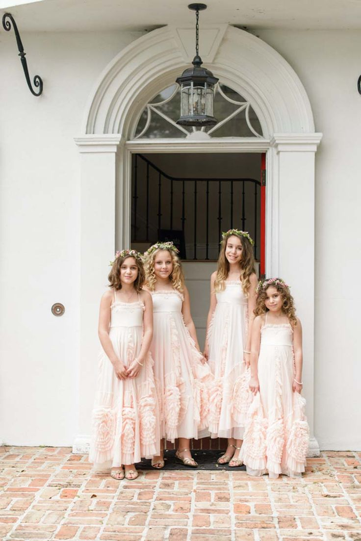 Best 25 junior bridesmaid dresses ideas on pinterest junior blush junior bridesmaid dresses navy and pink lakefront wedding orange blossom bride photographer ombrellifo Images