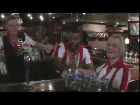 TGI Fridays - the coolest bar Olympics!