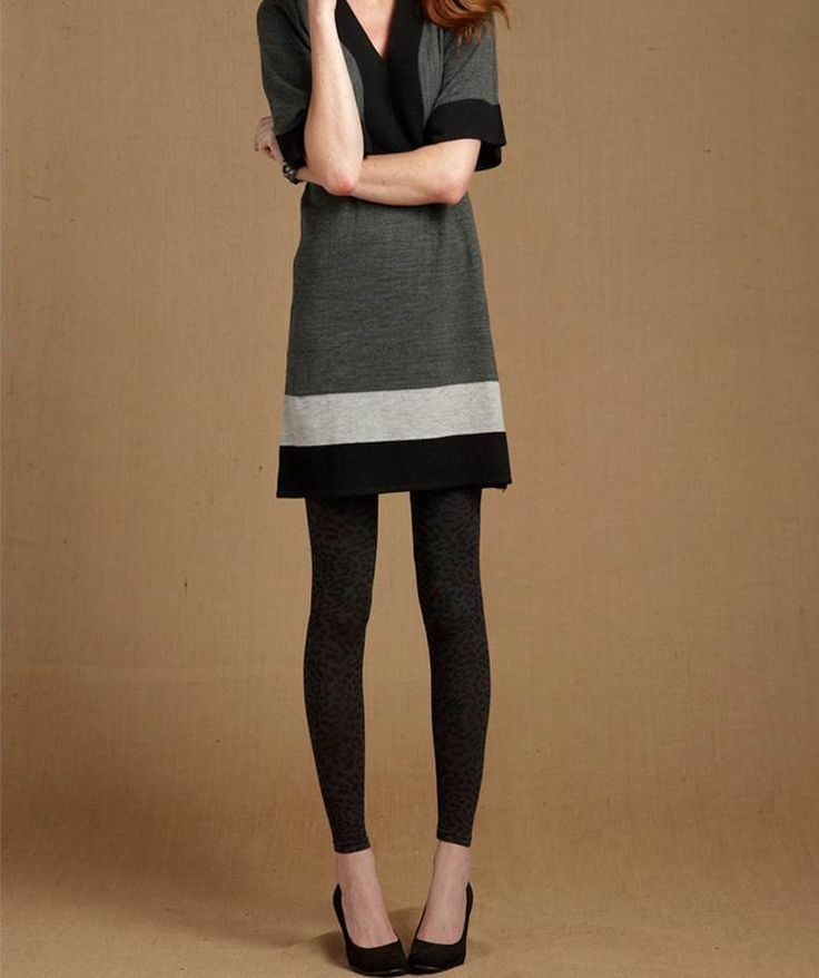 Massini Women S Sweater Dress With Leggings In Stores