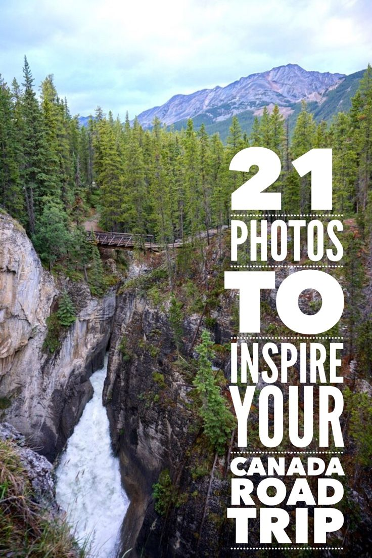 21 Amazing photos of a Canada road trip. Canada travel through glaciers, mountains and waterfalls of the Icefields Parkway.