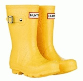 Yellow Kids Hunter Wellies Boots
