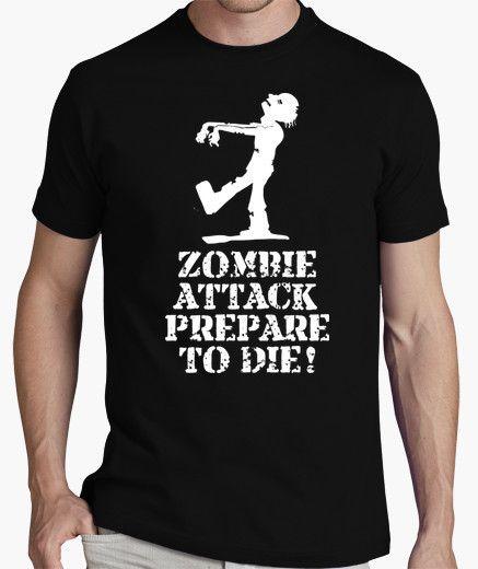 Camiseta Zombie Attack (oscura)