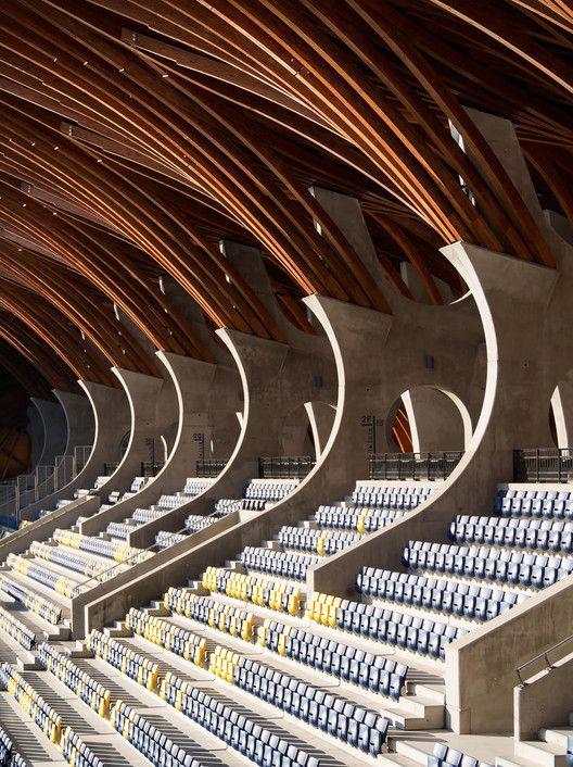 Pancho Arena / Tamás Dobrosi + Doparum Architects / Hungary © György Dénes