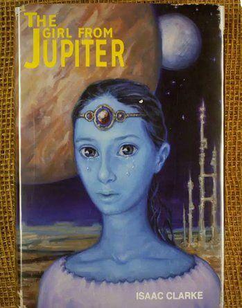 Moonrise Kingdom book cover The Girl from Jupiter