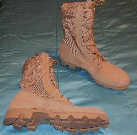 Wellco Desert Combat Boots US Made Size 12 1/2