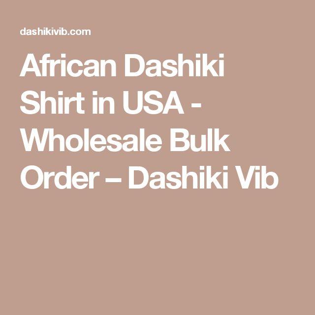 African Dashiki Shirt in USA - Wholesale Bulk Order – Dashiki Vib