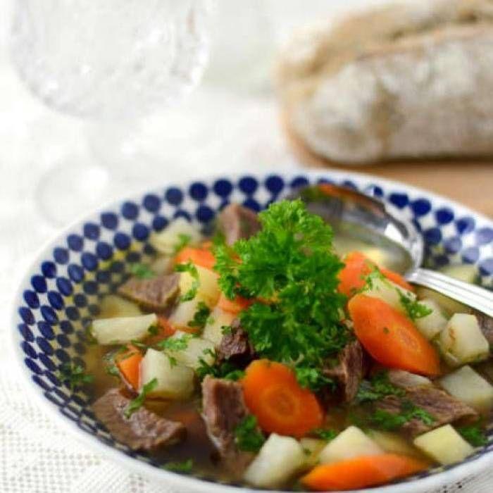 Klassisk köttsoppa