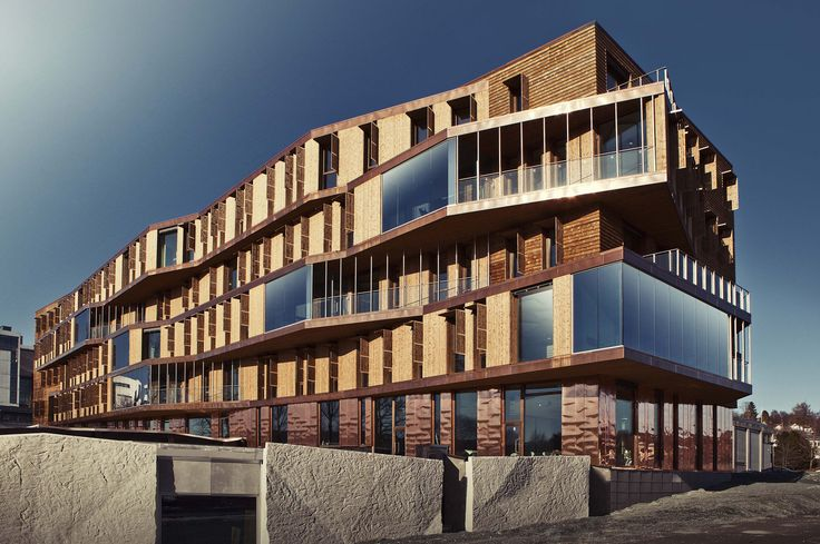 NINA (Norsk institutt for naturforskning), Trondheim. Architects: Pir II.
