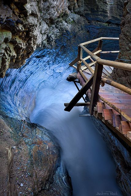 Raggaschlucht, Austria  - Blue Corner | Flickr - Photo Sharing!
