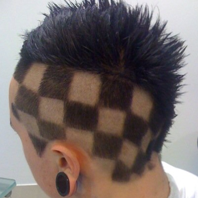 This has to be my favourite gents hair cut I've done of all time. The featured in a fashion show I organised in 2009 for east Cheshire hospice