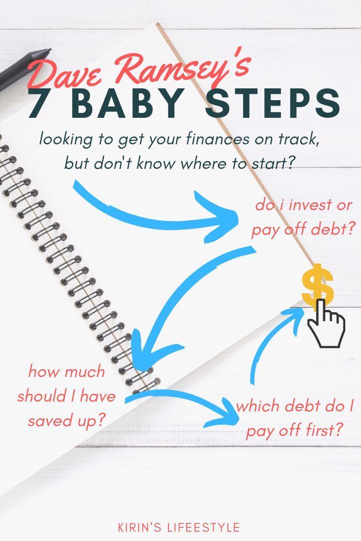 Finanzplanung für Anfänger mit Dave Ramseys 7 kleinen Schritten