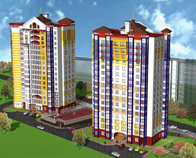 Two blocks of flats in the city center - Minsk, Minsk (Belarus)