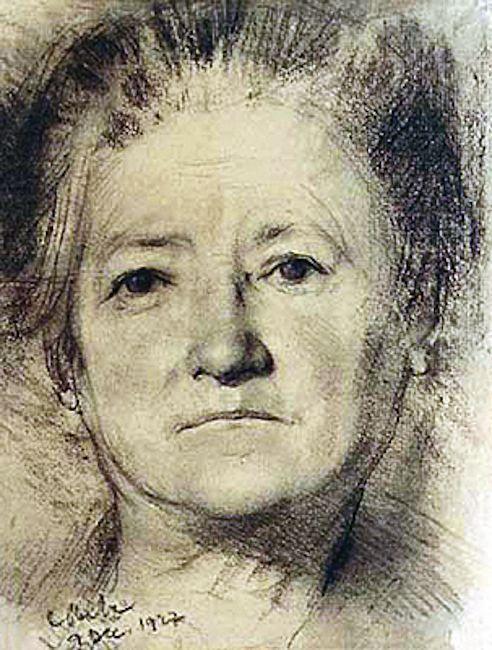 Portretul mamei artistului