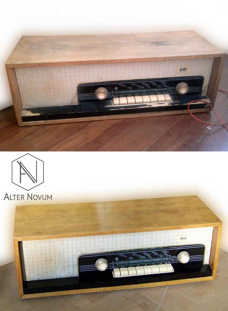 Radio Arkona z lat 70-tych, po renowacji w pracowni Alter Novum /// Polish vintage radio, after renovation by alternovum.com