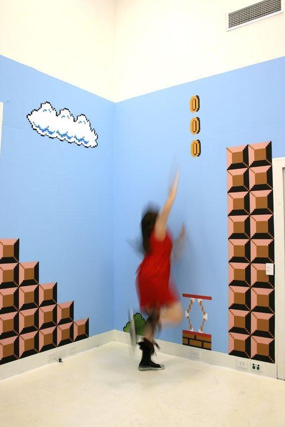 Habitación de Super Mario Bros videojuegos  nintendo  imagen