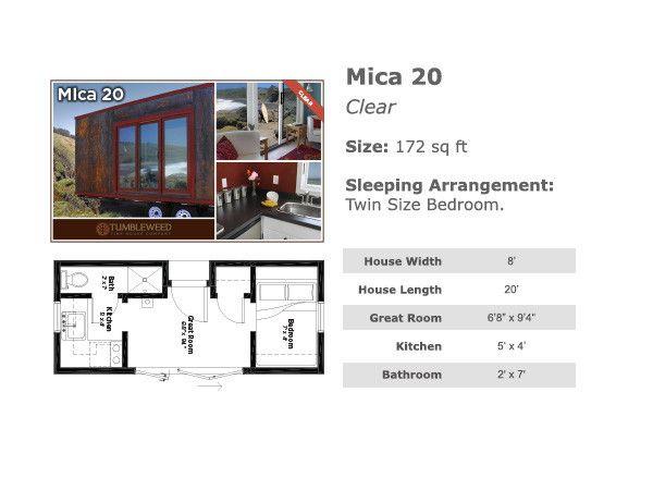 Marvelous Mica 20   Tumbleweed Homes