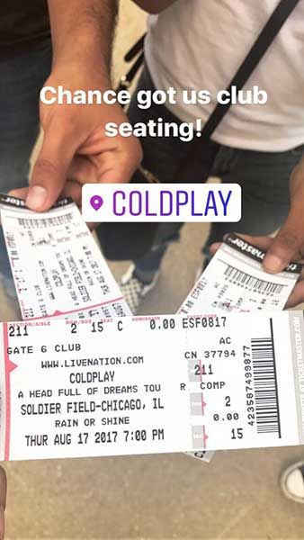 Chance the Rapper scores Coldplay tickets for terminally ill teen | abc7chicago.com