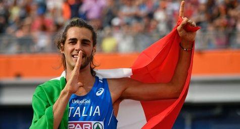 Gianmarco Tamberi conquista l'oro con il salto in alto (GettyImages)
