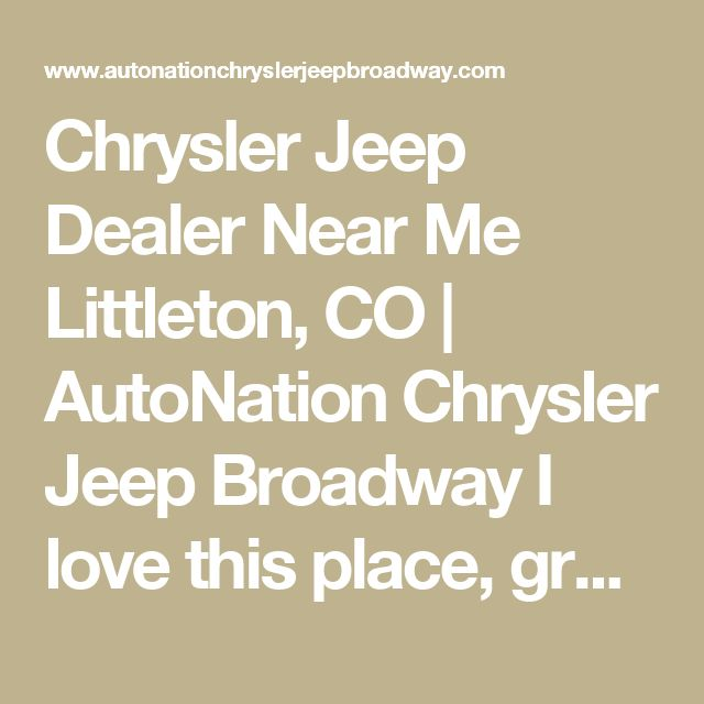 17 Best Ideas About Jeep Dealer On Pinterest