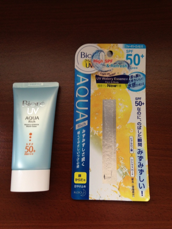 Biore UV Watery Essence Sunblock