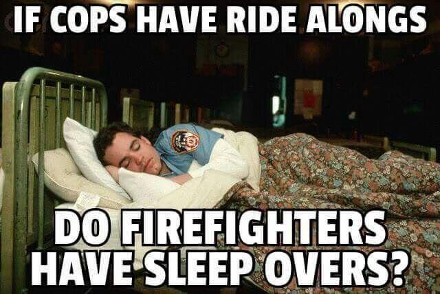 Memes Cop Vs Firefighter Funny