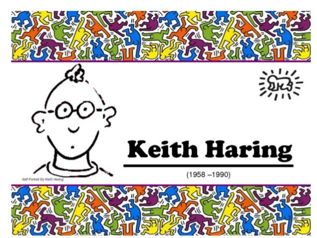 keith Haring for kids by nivaca2 via slideshare