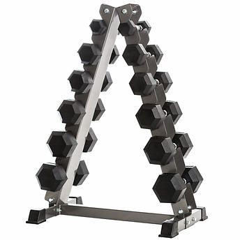 Tonic Performance 210 lb. Hex Dumbbell Set and Tower