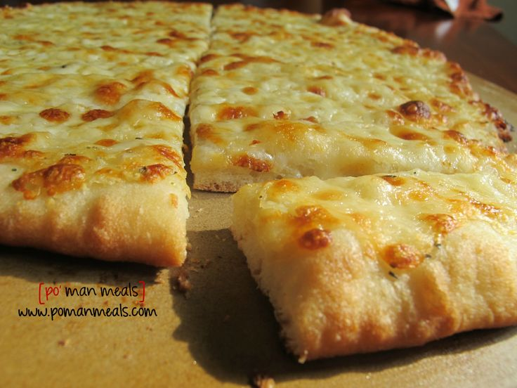 three cheese garlic breadsticks