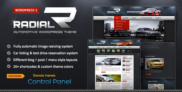 Radial in Beatiuful Theme for Technology Blog