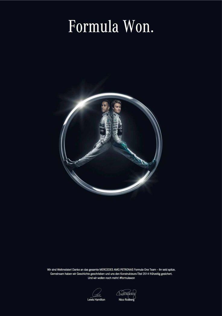 #Mercedes-Benz chwali się tytułem Konstruktorów Sezonu 2014 Formuły 1