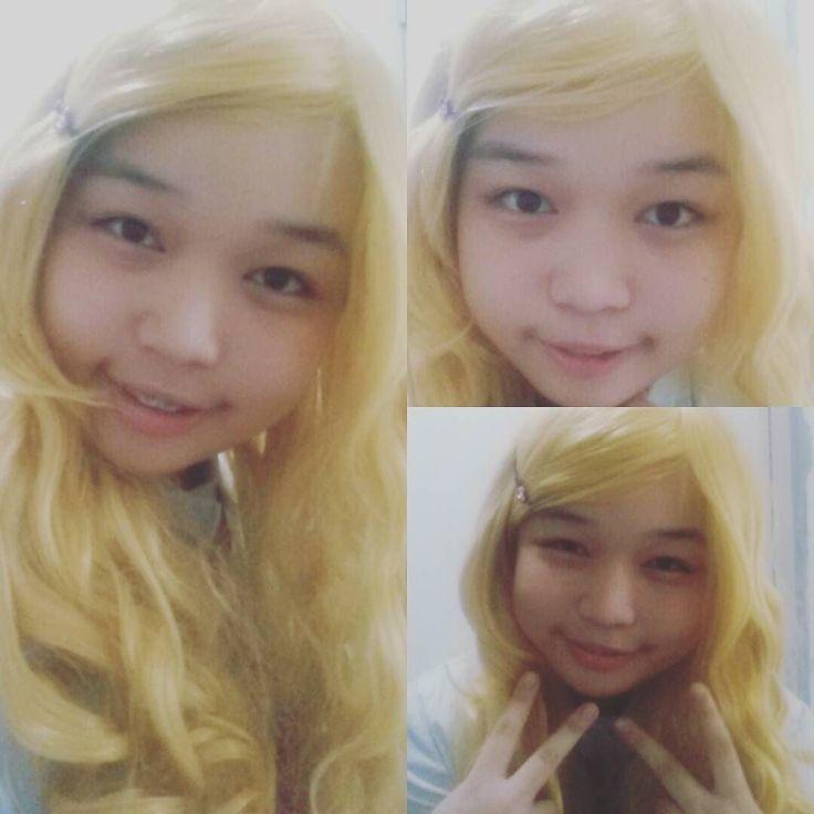 Lol I tried #cosplay #kaori #miyazonokaori #shigatsuwakiminouso #yourlieinapril #kaoricosplay #shigatsu_wa_kimi_no_uso #amature #kawaii #forfun #tried #cute #selfie #braces #Lol #anime #shigatsuwakimiuso #kaori #animecosplay #wig