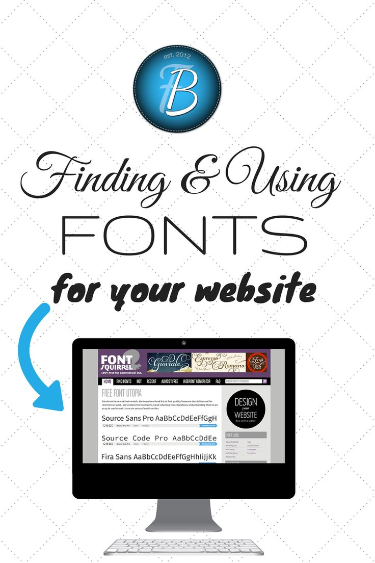 beginner 39 s guide to using fonts on your website better. Black Bedroom Furniture Sets. Home Design Ideas